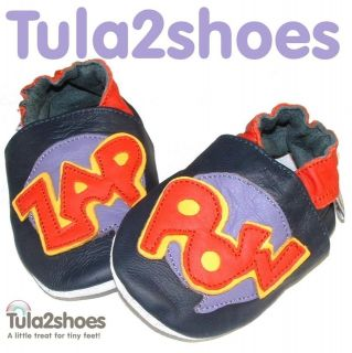SOFT LEATHER BABY BOYS SHOES 0 6 6 12 12 18 18 24 M