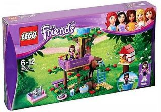 3065 FRIENDS OLIVIAS TREE HOUSE BUILDING BLOCK PLAYSET NEW IN BOX