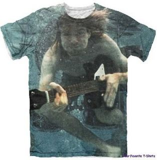 Licensed Kurt Cobain Underwater Adult Shirt S XL