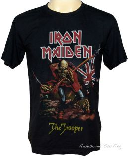 NEW IRON MAIDEN ROCK MUSIC HEAVY METAL BAND T SHIRT SIZE M L THE