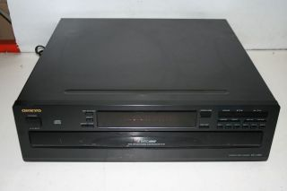 Onkyo Model DX C380 6 CD Compact Disc Changer Player Tested
