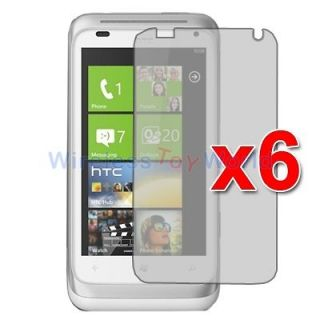 6X Anti Glare Matte LCD Screen Protector Guard for HTC Radar 4G