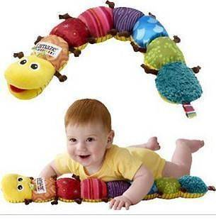 listed NEW Lamaze Musical Inchworm Soft Lovely Developmental Baby Toy
