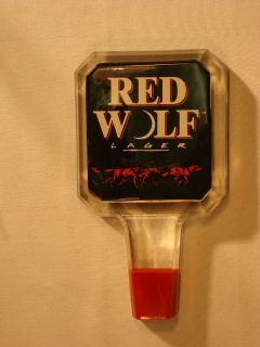 red wolf beer in Breweriana, Beer