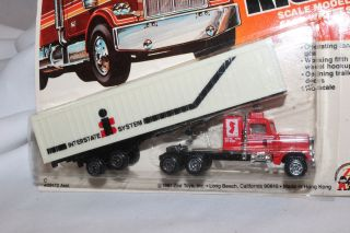 Zee Toys Big Rigs, Interstate System Semi Truck, Mint on Card