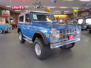 Ford  Bronco Bronco 1972 Ford Bronco 351 Automatic