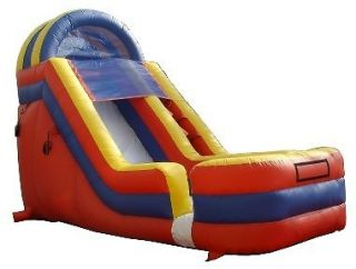 Commercial Inflatable Slide Bounce House 18  Slides Moonwalk Jumper