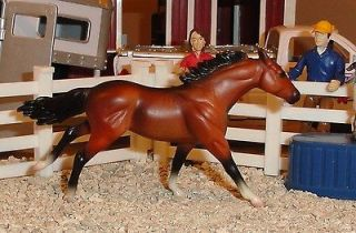 BREYER MODEL HORSE STABLEMATES #5651 BAY THOROUGHBRED G(2) STABLEMATE