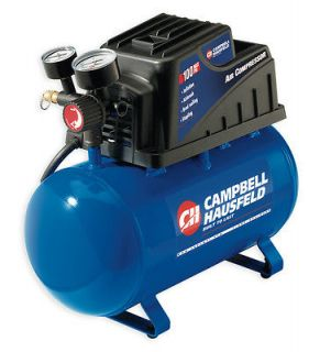Campbell Hausfeld Air Compressor and 16 Gauge Straight Finish Nail Gun