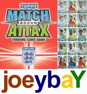 CHOOSE WORLD CUP HUNDRED CLUB OR LIMITED EDITION MATCH ATTAX ENGLAND