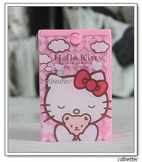 Hello Kitty Soaking Holder Portable Travel Contact Lens Boxes Cases