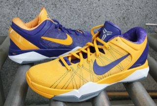 Nike Kobe VII 7 X System Lakers Away Yin Yang Snake Pool 488370 500 US