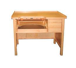 JEWELERS Watchmakers WOODEN WORK BENCH Table TOOL New