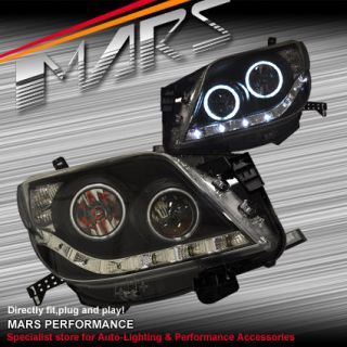 CCFL Angel Eyes Projector Head Lights Toyota Land Cruiser Prado 07 13