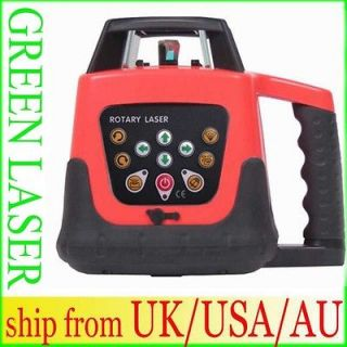 AUTOMATIC SELF LEVELING ROTARY LASER LEVEL 500M GREEN BEAM ELECTRONIC