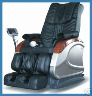 NEW MD E09A Massage Chair Recliner Massager Leather ett