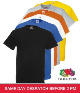 fruit of the loom t shirt in Mens Clothing