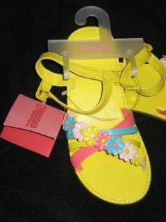 Gymboree HAPPY RAINBOW Flower Strap SANDALS Shoes upick