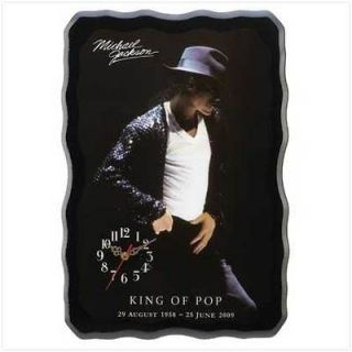 michael jackson clock in Home & Garden