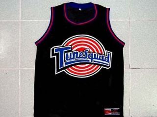 MICHAEL JORDAN TUNE SQUAD SPACE JAM MOVIE JERSEY BLACK NEW ANY SIZE