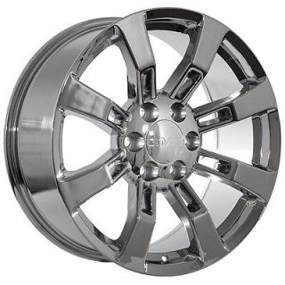 GMC truck 2011 Sierra Yukon Denali Chrome Rims Wheels fits 2011 Denali