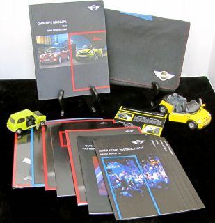 2010 Mini Cooper Cooper S John Cooper Works Convertible Owners Manual