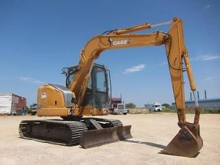 2005 CASE CX75SR MINI EXCAVATOR   EXCAVATOR   LOADER   28 PICS