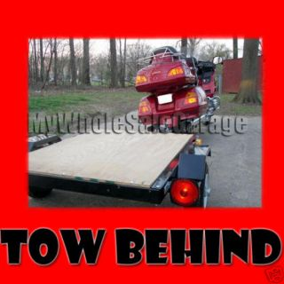 pull behind motorcycle trailer in Other Vehicles & Trailers