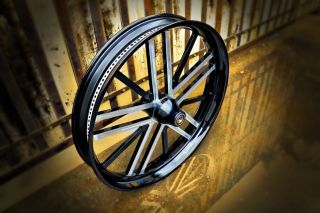 21 Custom Motorcycle wheel for Harley Davidson Bagger, touring,