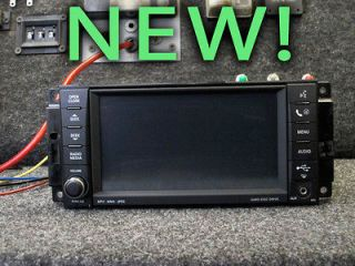 CHRYSLER JEEP DODGE MYGIG MULTIMEDIA CD PLAYER RADIO 09 10 11