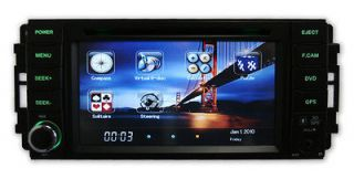 GPS Navigation DVD Radio Stereo Bluetooth iPod In Dash For Chrysler
