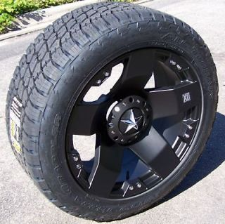 XD ROCKSTAR WHEELS & NITTO TERRA GRAPPLER TIRES JEEP WRANLER JK SAHARA