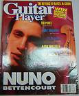 Guitar Player Magazine Nuno Bettencourt, The Pixies April 1991 101312R