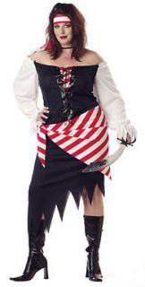 Ruby Pirate Beauty Womens Sexy Costume Plus Size 16 22