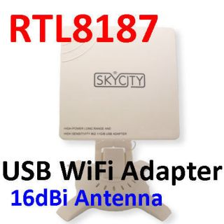 Long Range High Power USB Wireless WIFI Adapter+Antenn​a