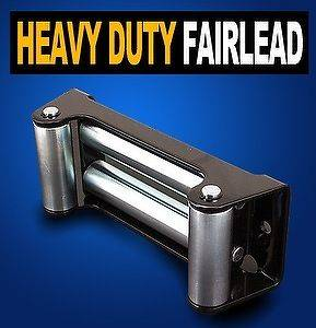 New Heavy Duty Truck Roller Fairlead for Recovery Winch 8000LB 12000LB