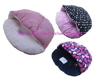 Half Covered Pet Dog Cat Bed Sleeping Bag Soft&Warm Dog House 3 Types