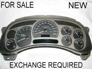 NEW OEM GM DENALI GAUGE INSTRUMENT CLUSTER FOR PICKUP TRUCK & SUV