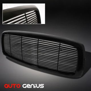 DODGE RAM 1500, 03 05 2/3500 1 PIECE BLACK BILLET STYLE FRONT GRILLE