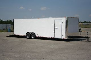 5x28 Enclosed Cargo Auto Car Hauler 8.5 X 28 RACE READY OPTION SPECIAL