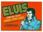 Elvis Presley Record Album Cover Bubble Gum Cards 72