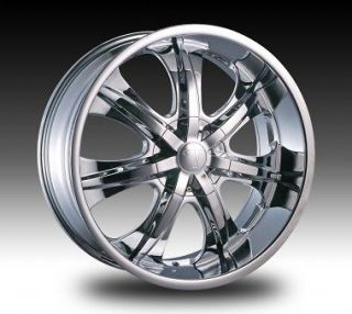 28 inch Velocity V725 Wheels rims&Tires fit Chevy Cadillac GMC Nissan