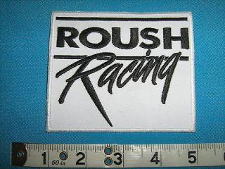 rare FORD MUSTANG ROUSH RACING USA Patch BADGE NASCAR NHRA SCCA DRAG