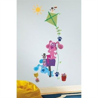 Blues Clues Peel & Stick Growth Chart Removable Wall Decals Stickers