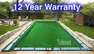 Arctic Armor Solid Winter Cover In Ground Pool 12 Year