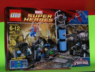 LEGO 6873   spider mans doc ock ambush   MARVEL SUPER HEROES