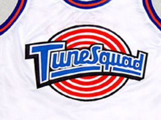 MICHAEL JORDAN TUNE SQUAD SPACE JAM MOVIE JERSEY WHITE NEW MEDIUM