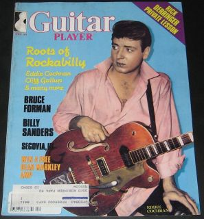 Guitar Player Magazine December 1983 Rockabill​y, Eddie Cochran