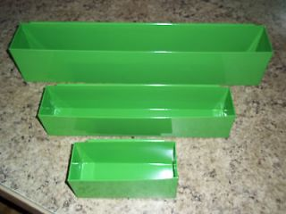 GREEN AUTO MECHANIC TOOL BOX TRAYS CAN HOLDER / DEEP DRAWER snap 2