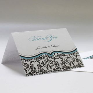 personalized wedding thank you cards